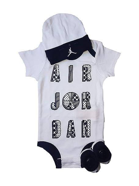 Nike - Pelele - para bebé niño Negro/Blanco 0-6 Meses 60-70cm: Amazon.es: Ropa y accesorios