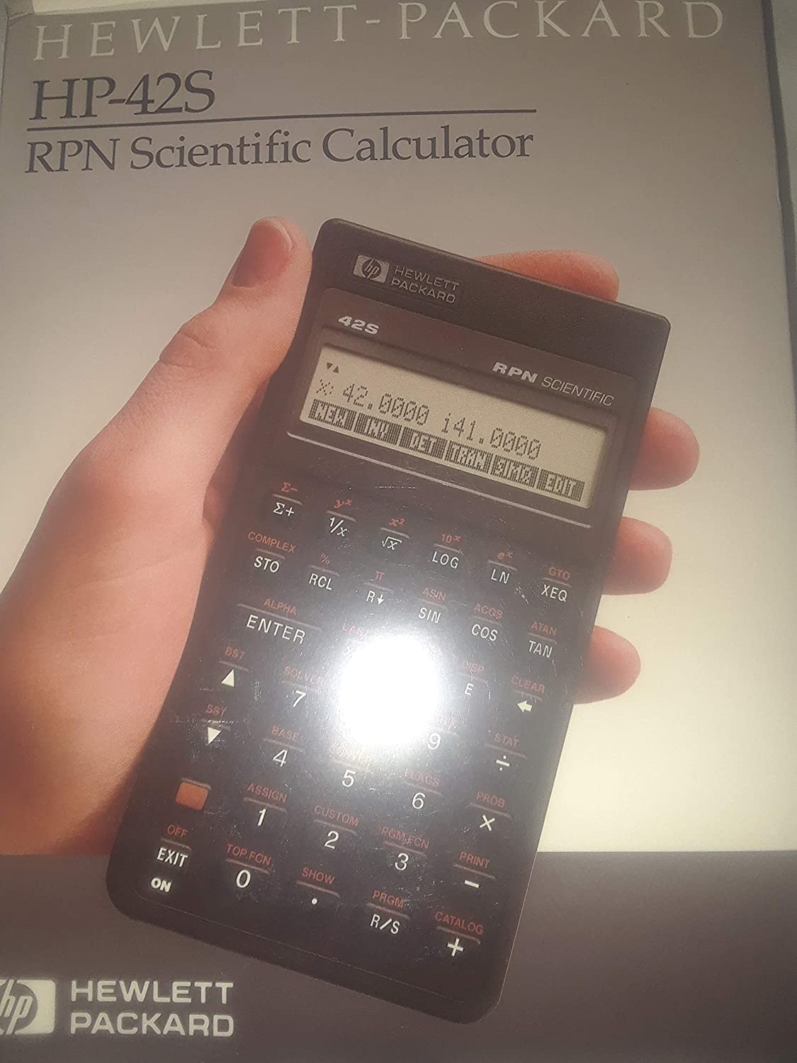 HP 42S RPN Scientific Calculator