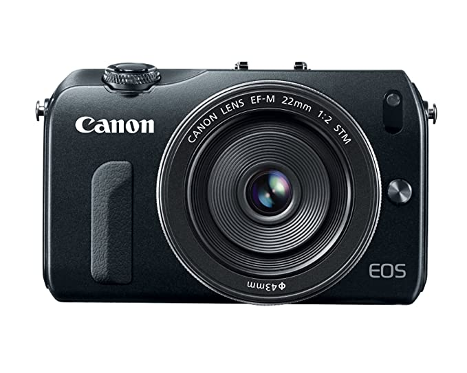 Canon EOS M 18 0 MP Compact Systems Camera with 3 0-Inch LCD and EF-M 22mm  STM Lens (OLD MODEL)