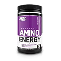 Optimum Nutrition Amino Energy Concord Grape Drink 30 Servings