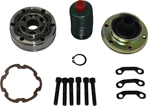 BLACKHORSE-RACING Front Driveshaft Rear CV Joint Rebuild High Performance Tools Replacement Complete Kit For Jeep Dodge Truck