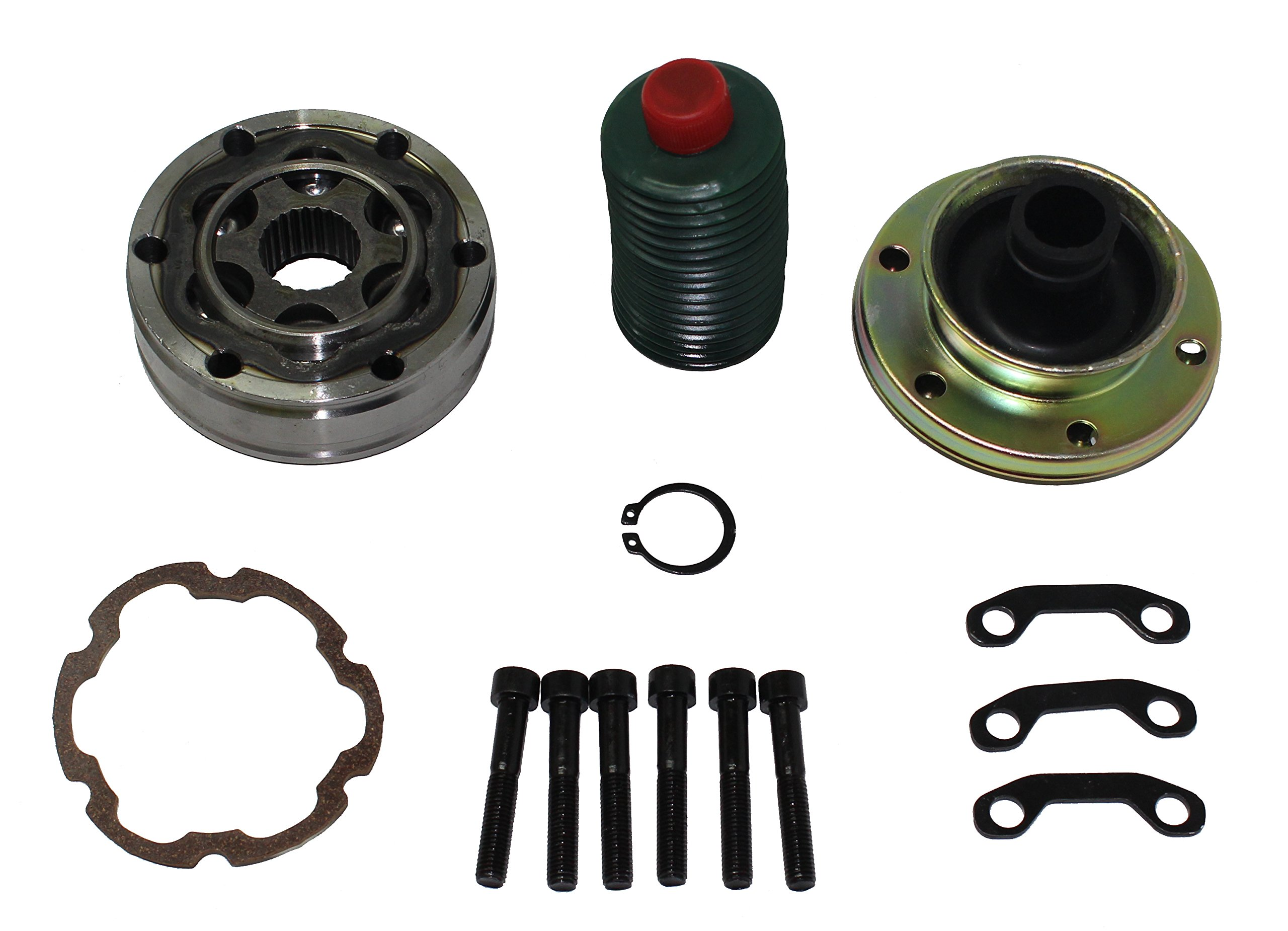 Detroit Axle: Rear Position Brand New Drive Shaft CV Joint Repair Kit for Jeep Truck'sShort Box - CVK0011