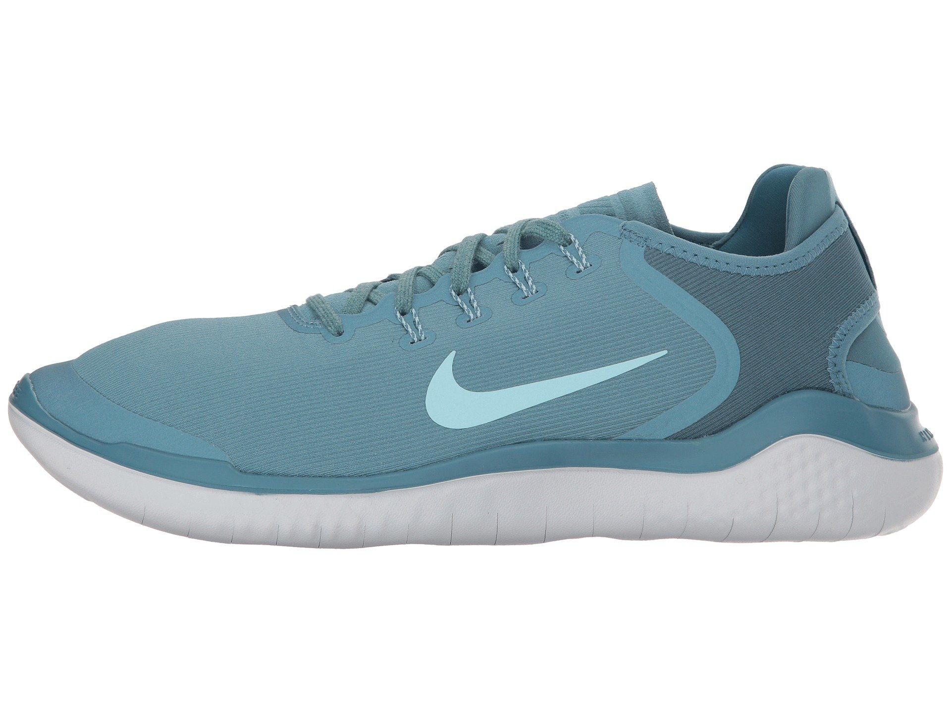 Nike Free RN 2018 Sun Running Shoe (8 D(M) US, Noise Aqua/Pure Platinum) by Nike (Image #6)