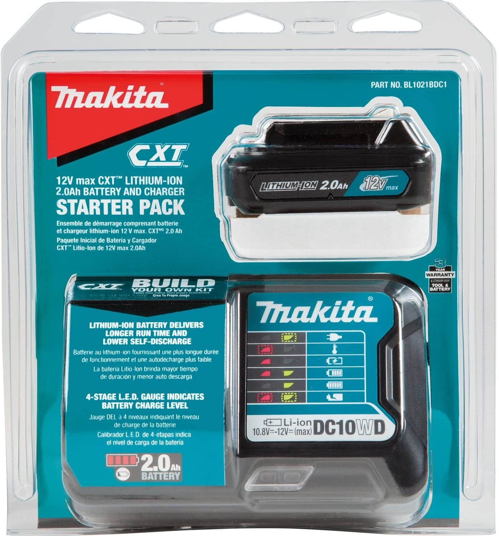 Amazon.com: Makita bl1021bdc1 Max CXT de 12 V Batería de ...