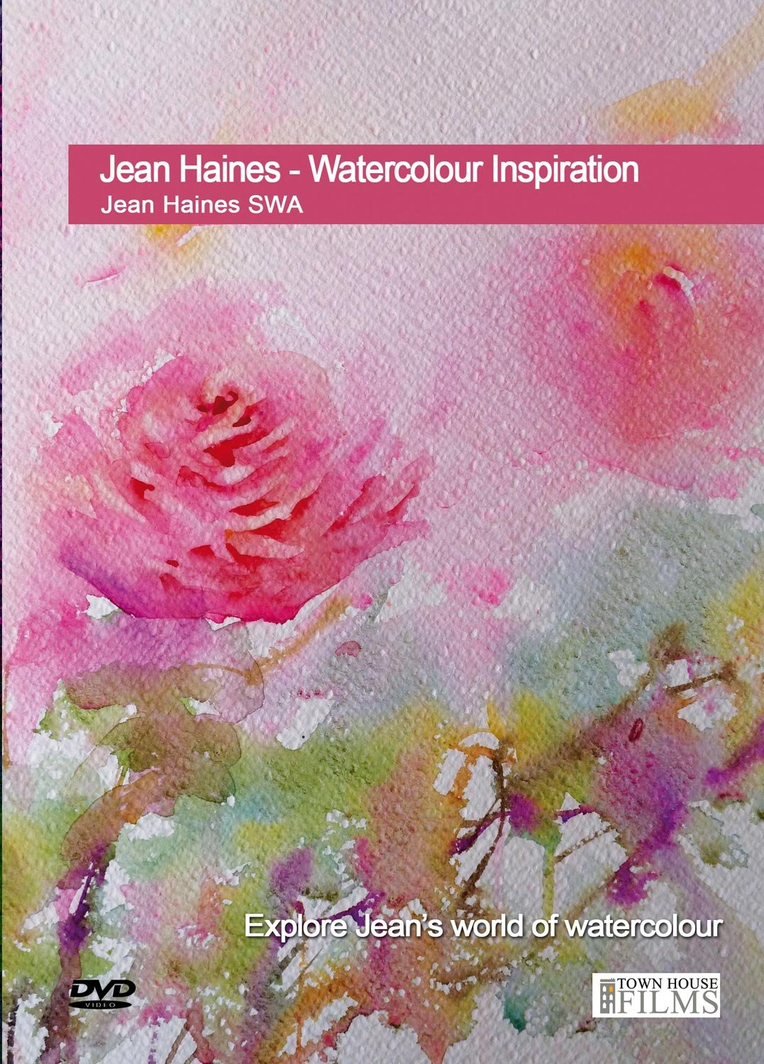 Amazon.com: Jean Haines - Watercolor Inspiration DVD with Jean ...