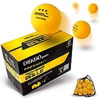 Pelotas Ping Pong de 3 Estrellas Dieker Sports [36 Pelotas + Bolsa + Vídeo] – Pelotas Ping Pong que cumplen con las…