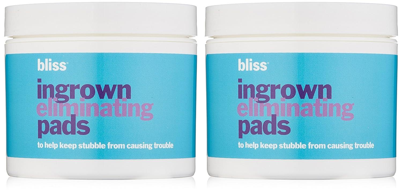 Amazon com : bliss Ingrown Eliminating Pads (Set of 2)   Use