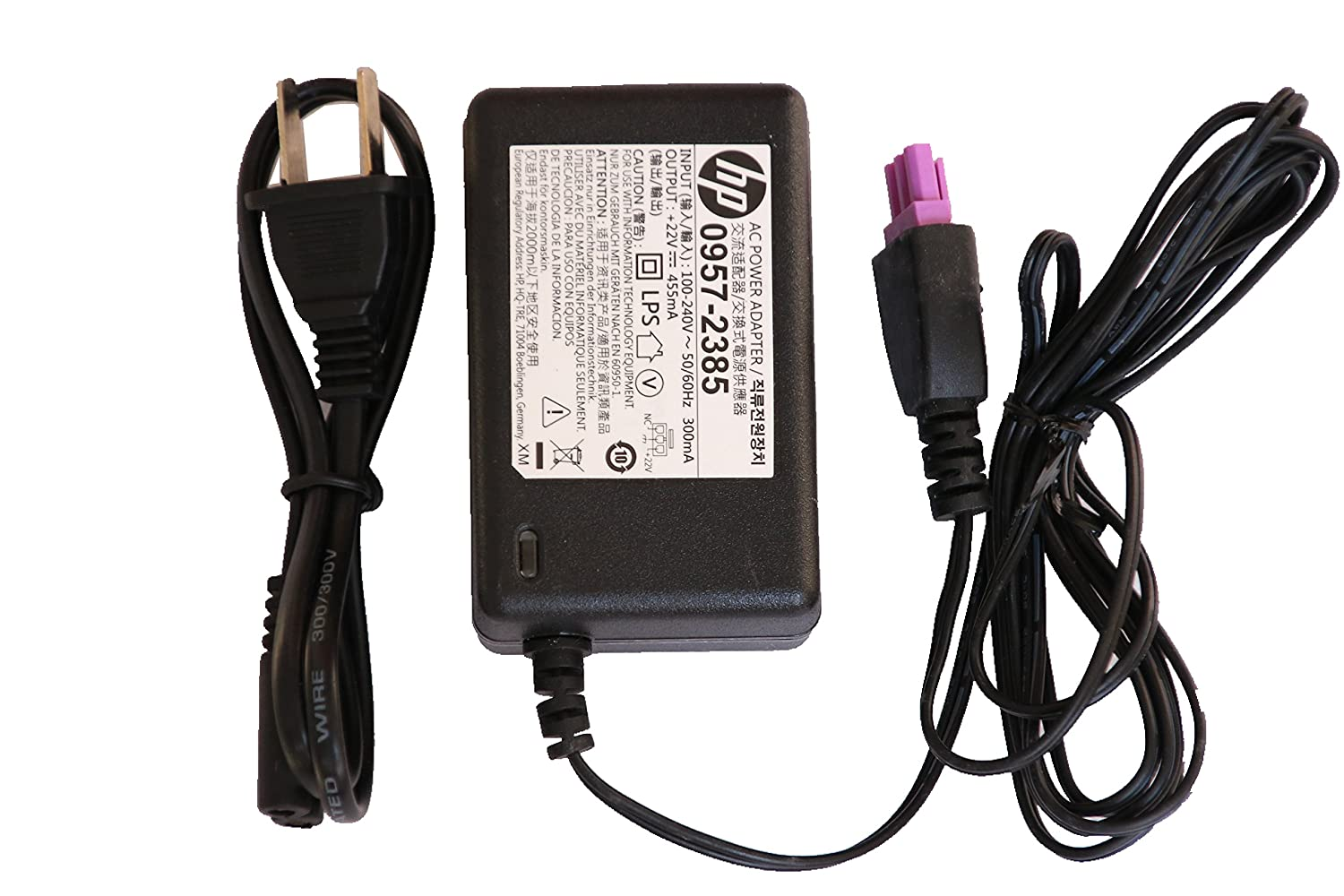 Amazon.com: AC DC Adapter HP 0957-2403 0957-2385 for HP Deskjet 1010 1012  1510(not PSC 1510) 1512 1513 1514 1518 2515 2548 2540 2541 2542 2543 2544  2546 ...