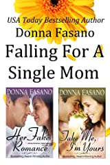 Falling for a Single Mom Duet Bundle: Her Fake Romance and Take Me, I'm Yours Kindle Edition