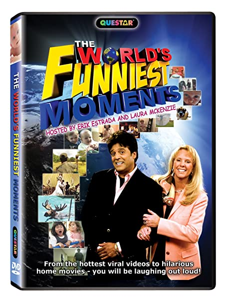 Erik Estrada Worlds Funniest Christmas 2020 Amazon.com: The World's Funniest Moments: Hosted By Laura McKenzie