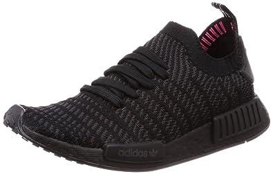 Amazon Com Adidas Men S Nmd R1 Stlt Pk Core Black Utility Black