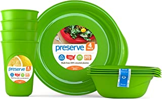 product image for Preserve, Everyday Tableware Set, Apple Green