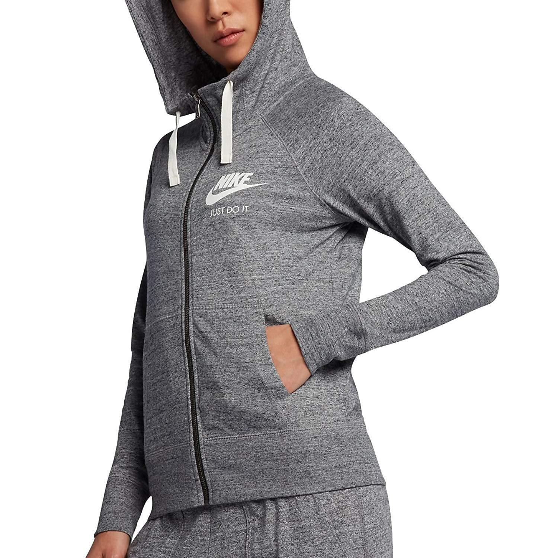 Nike W NSW Gym VNTG FZ Sudadera, Mujer: Amazon.es: Deportes y aire ...