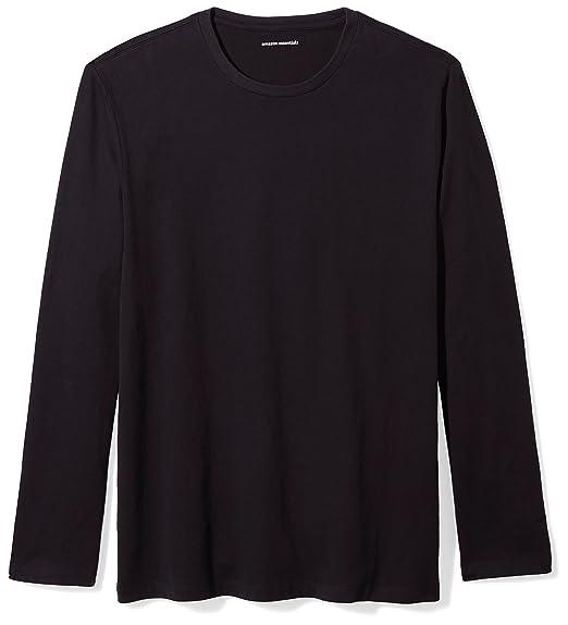 4719134f7aec Amazon.com  Amazon Essentials Men s Regular-Fit Long-Sleeve T-Shirt ...