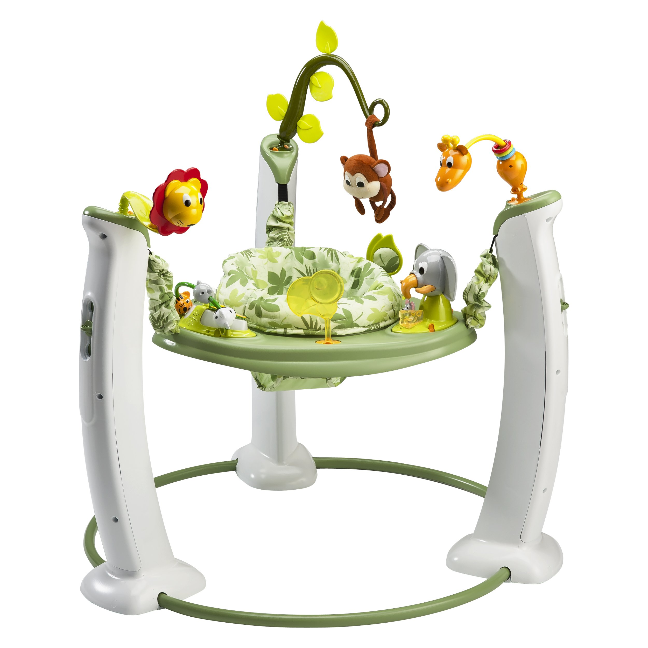 Evenflo ExerSaucer Jump and Learn Activity Centre Safari Friends