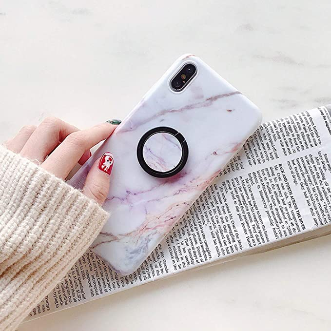 Amazon.com: Funda con soporte para anillo para iPhone 6, 6S ...