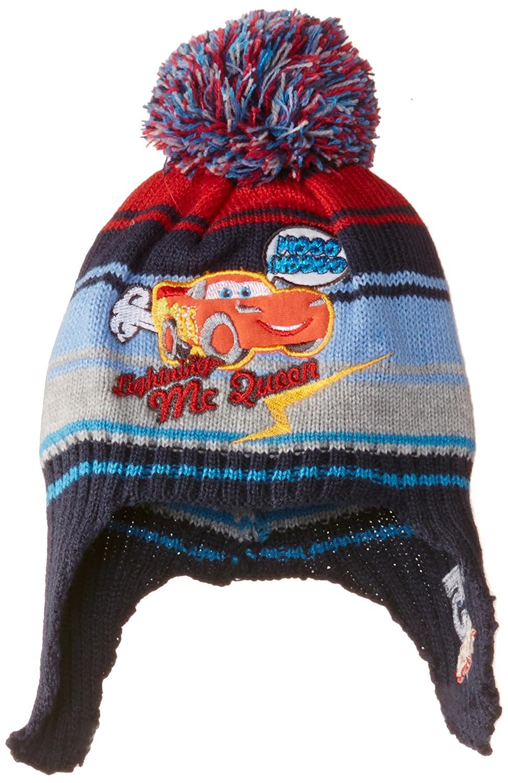 Disney Baby Jungen Strickmütze Cars Nh4102 Blau (Indigo)
