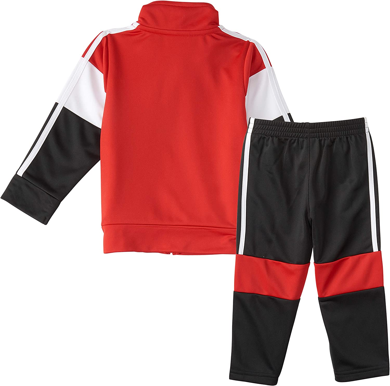 adidas Boys' Tricot Jacket & Pant Clothing Set: Clothing