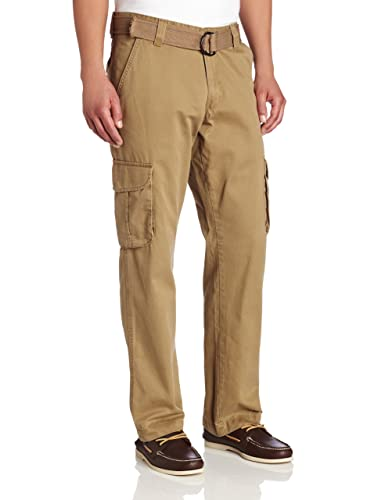 Lee Men's Relaxed-Fit Utility Belted Cargo Pant at Amazon Men's ...