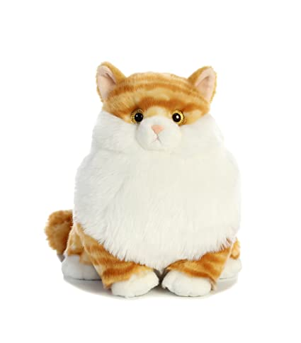 Amazon Com Aurora World Fat Cats Butterball Tabby Plush Toys Games