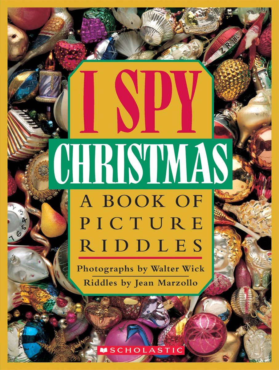 I Spy Pictures >> I Spy Christmas A Book Of Picture Riddles Jean Marzollo