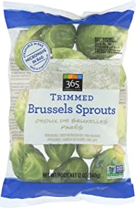365 Everyday Value, Trimmed Brussels Sprouts, 12 oz