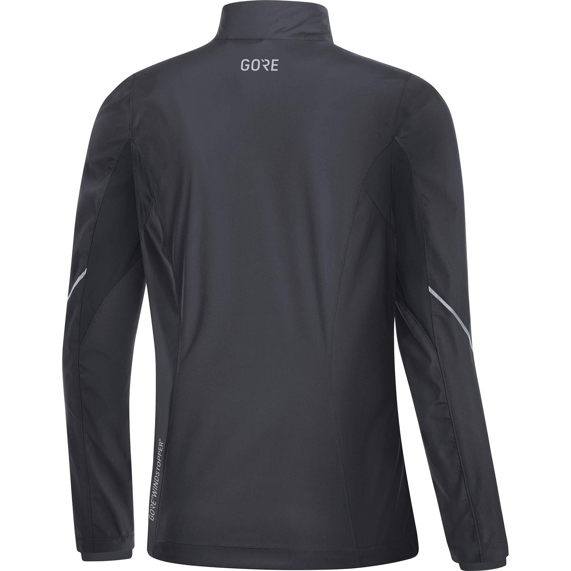 Gore Women's R3 Wmn Partial Gws Jacket,  terra grey/black,  M by GORE WEAR (Image #4)