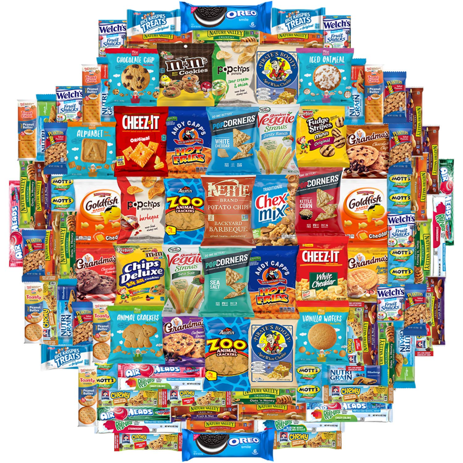 Ultimate Care Package Assortment Gift Box (100 Count) by Snack Chest