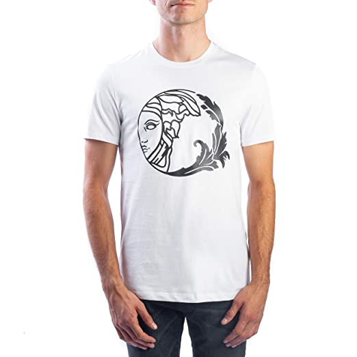 d6e0b8302a24 Amazon.com  Versace Collection Men s Cotton Circle Medusa Graphic T ...