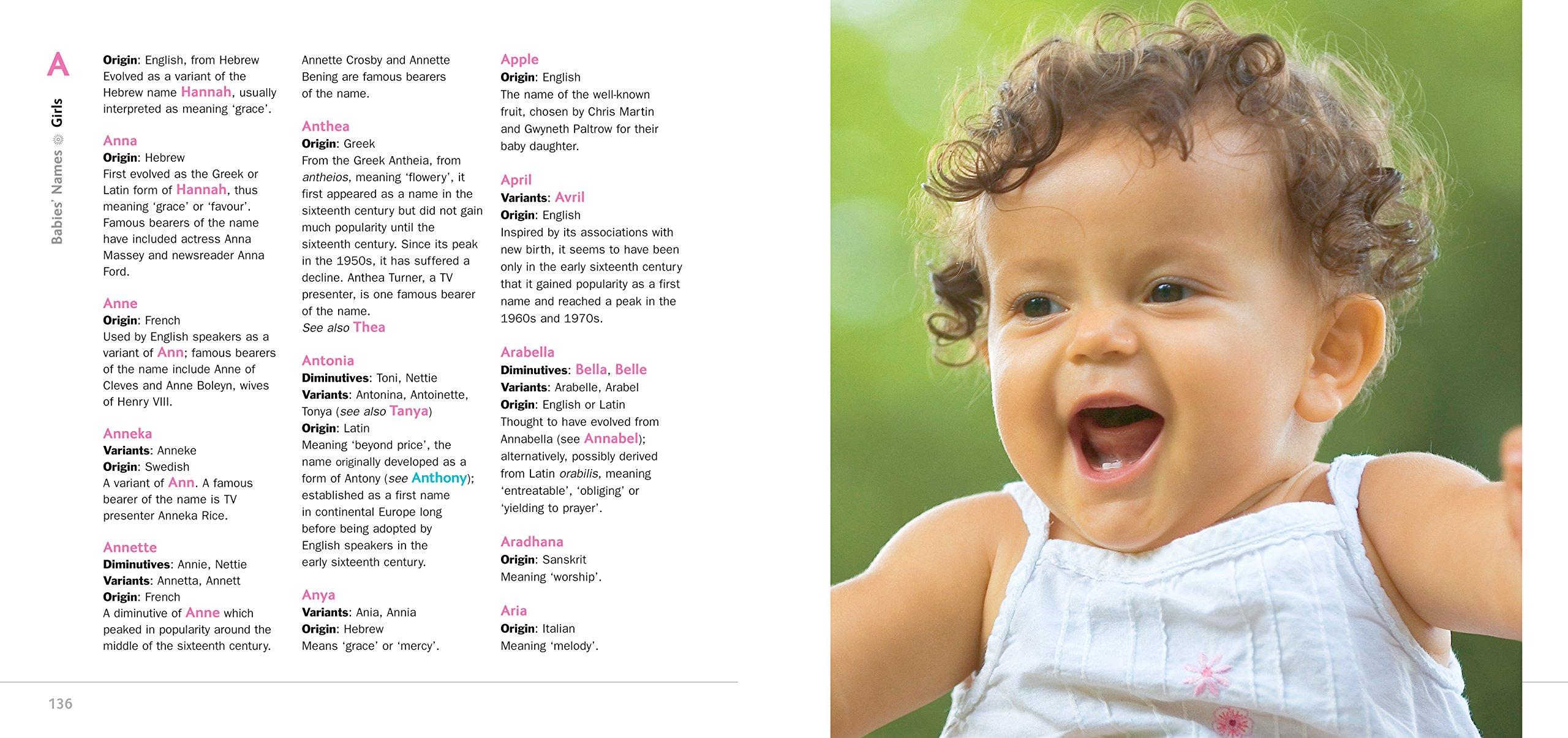 Babies' Names: Amazon co uk: Justine Roberts, Dawn Laker, Maryanna