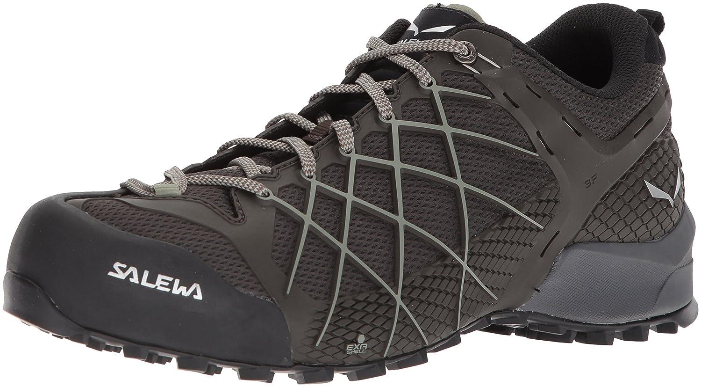 MultiCouleure (noir Olive   Siberia 7625) 46 EU Salewa Ms Wildfire, Chaussures de Randonnée Basses Homme