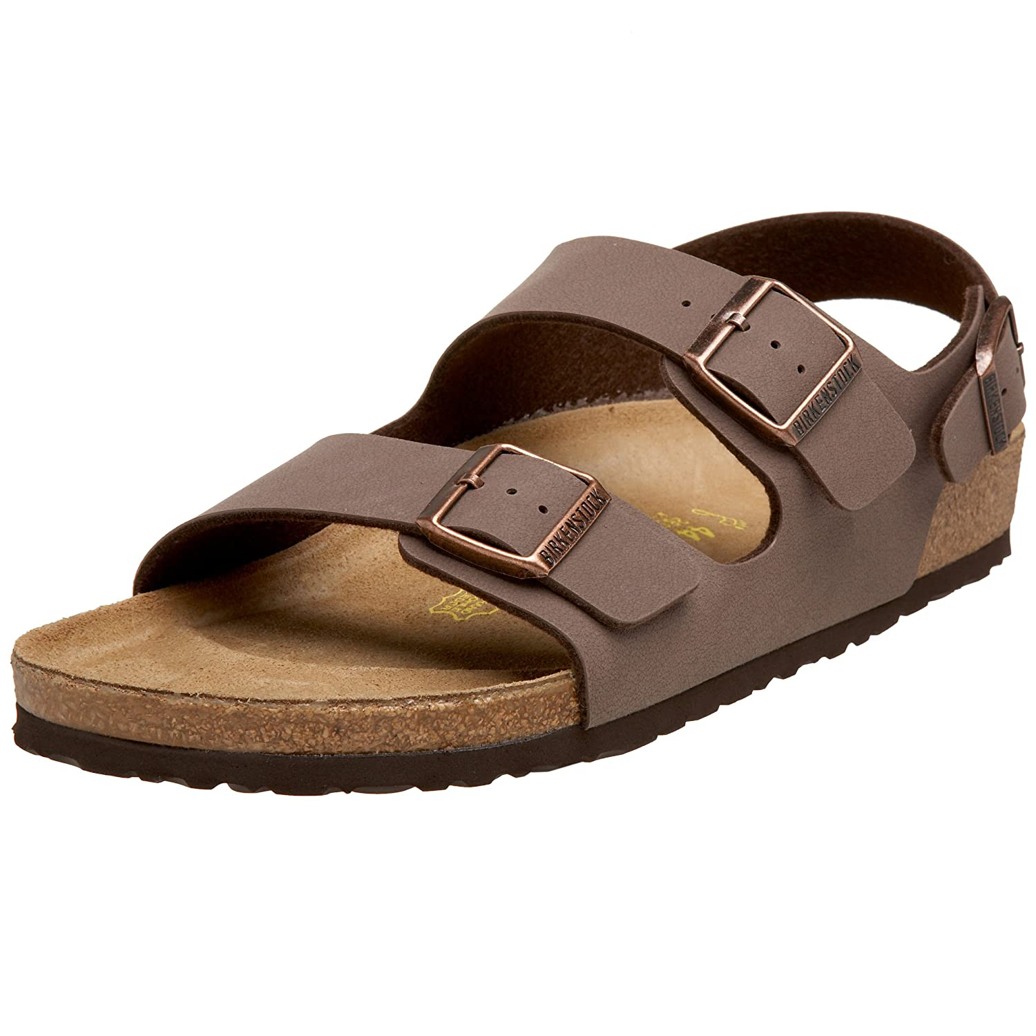 e097a9302894 Amazon.com  Birkenstock Milano Unisex Leather Sandal  Shoes