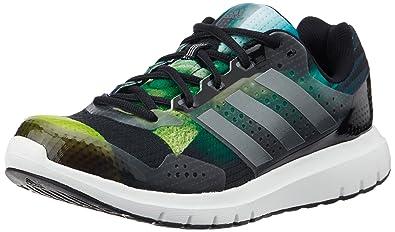 online store ff0e5 162cc adidas Duramo 7.1 M, Chaussures de Running Entrainement Homme, NoirGris  (Citron