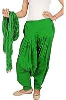 Rama Women's Cotton Dress Material (14RAMA14215719_Free Size_Spring Green)