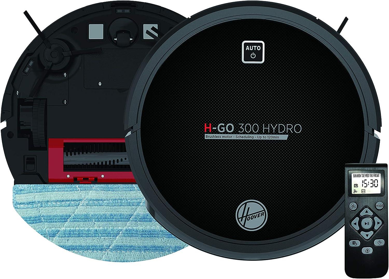 Hoover HGO320H Aspirateur Robot Nettoyeur et Laveur 2 en 1 Noir avec...