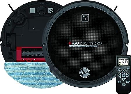 Hoover 38383000, H-Go 300 Hydro HGO320H 011 Robot multifunción 2 en 1, Aspirador + Lavado, Hi-Gloss Black: Amazon.es: Hogar