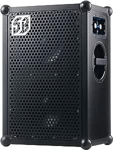 SOUNDBOKS 2 Altavoz portátil Bluetooth (volumen de 122db, carcasa resistente, duración media de la batería: 40h) - Black Edition