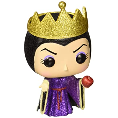 Funko Pop! Disney Diamond Collection Snow White And The Seven Dwarfs Evil Queen Vinyl Figure Exclusive: Toys & Games