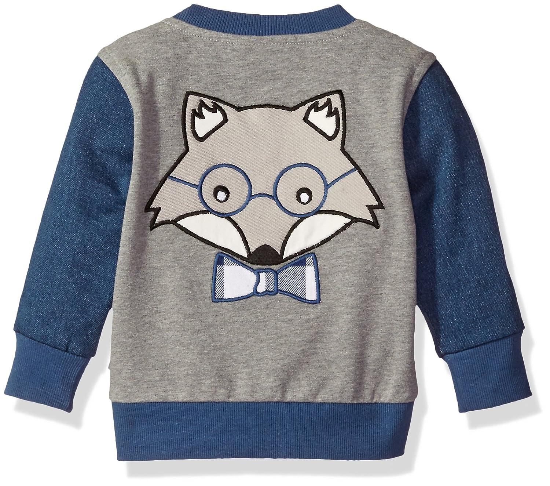 Rosie Pope Baby Boys Wolf Pack Varsity Jacket
