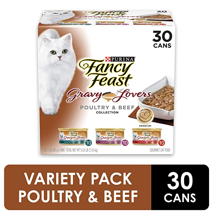 Top 10 Fancy Feast Beef Classic Beef Cat Food