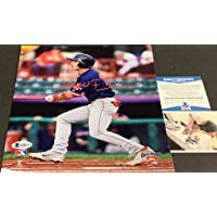 $34 » Jarren Duran Boston Red Sox Autographed Signed 8x10 BECKETT ROOKIE COA Red