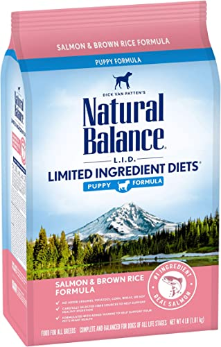 Natural Balance L.I.D. Limited Ingredient Diets Dry Puppy Food with Grains