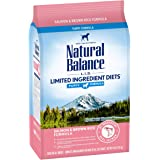 Natural Balance L.I.D. Limited Ingredient Diets Dry Dog Food, 4 Pounds, Salmon & Brown Rice Puppy Formula
