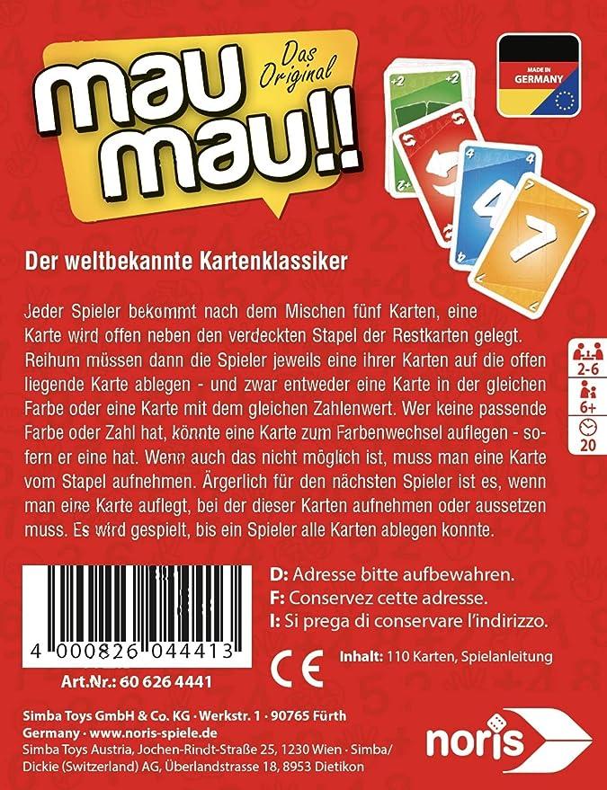 Spielanleitung mau mau kartenspiel