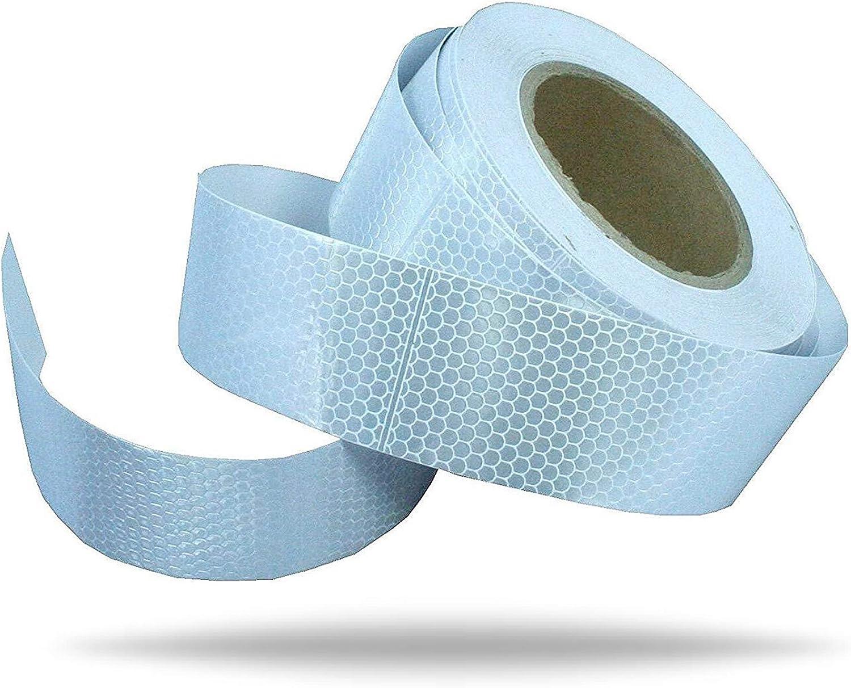 Reflector banda cinta de seguridad Reflexion adhesiva (Plata 5 cm ...