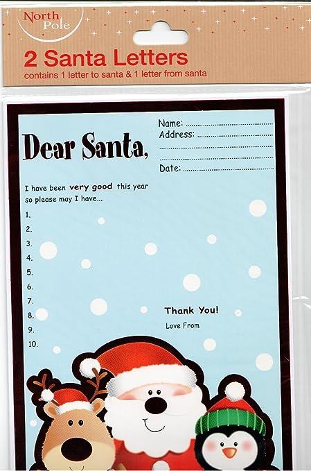 North pole 2 letters to santa amazon kitchen home north pole 2 letters to santa spiritdancerdesigns Choice Image