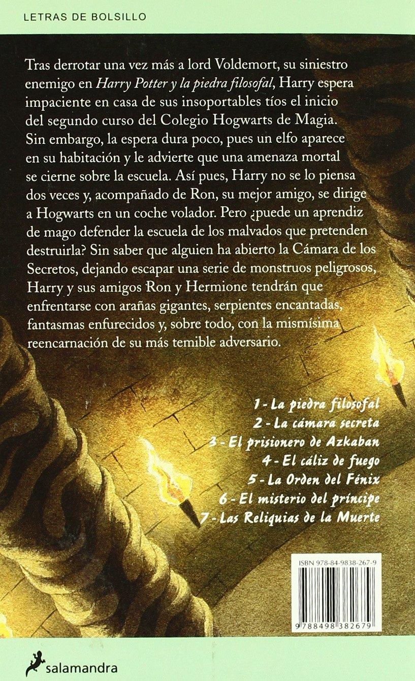 Harry Potter y la Cámara Secreta: Harry Potter y la camara ...