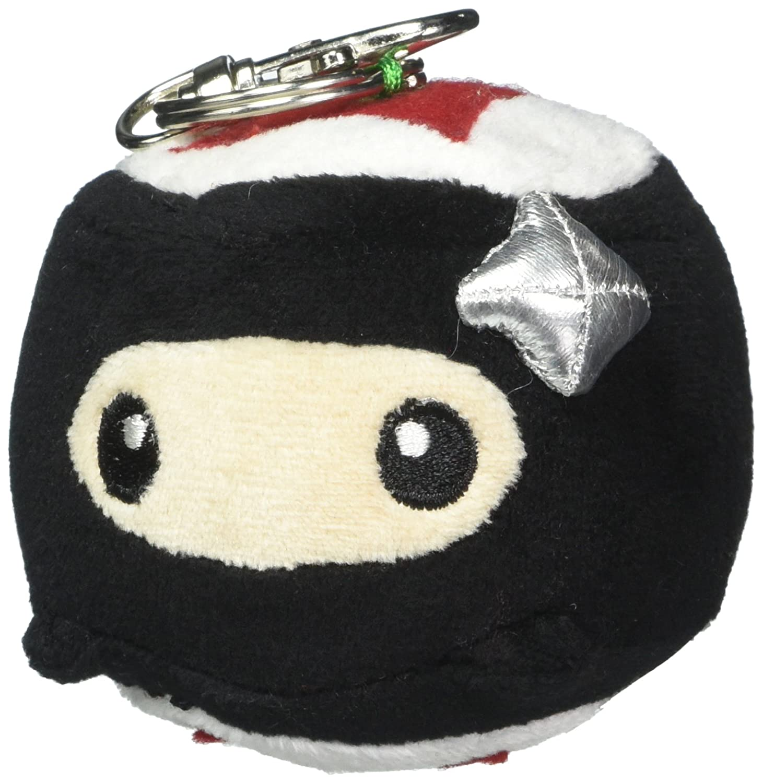 Sushi Six 10605 Ninja Maki Plush Keychain Cute Toy (Pack of 16)