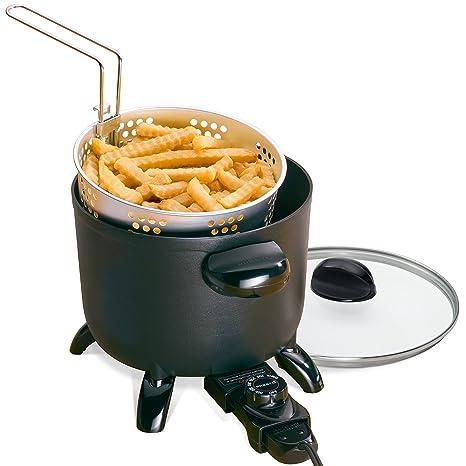 Amazon.com: Presto 06006 Kitchen Kettle Multi-Cooker/Steamer(Black versatile 11.5 x 9 x 8.5 inches): Kitchen & Dining