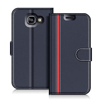 COODIO Funda Samsung Galaxy A5 2016, Funda Cuero Samsung Galaxy A5 2016, Funda Cartera Samsung Galaxy A5 2016 Case con Magnético/Billetera/Soporte ...
